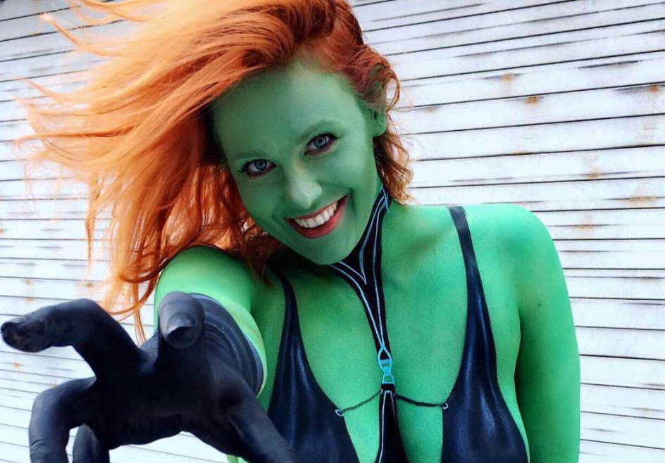 Maitland Ward cosplay
