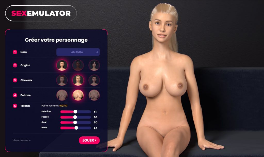 virtual sex on Sexemulator